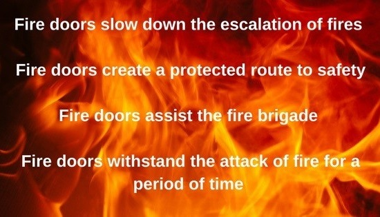 Badly Fitted Fire Doors Don T Save Lives