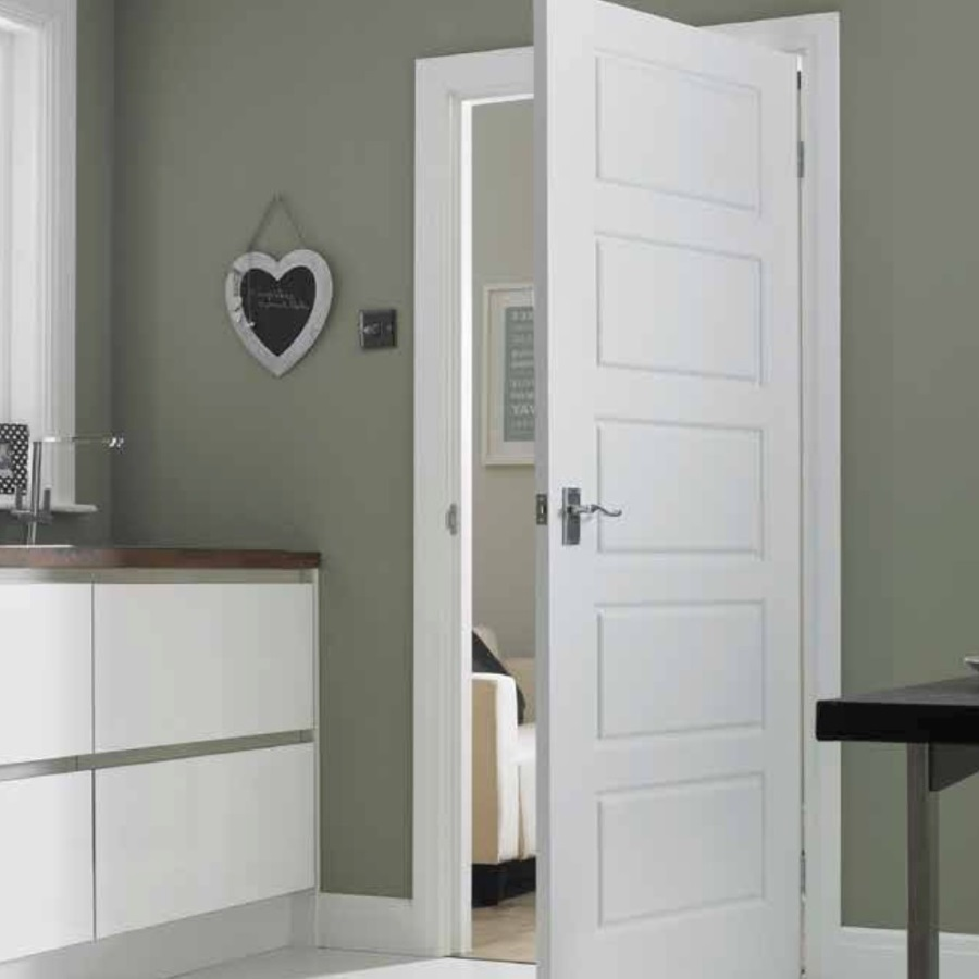 Internal doors - What doors are best suited to the downstairs of a ...