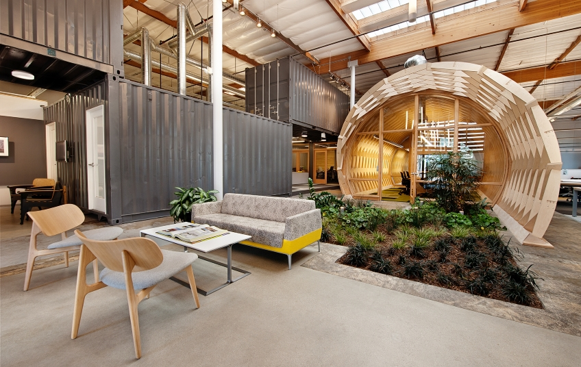 Beautiful Examples Of Sustainable Office Design
